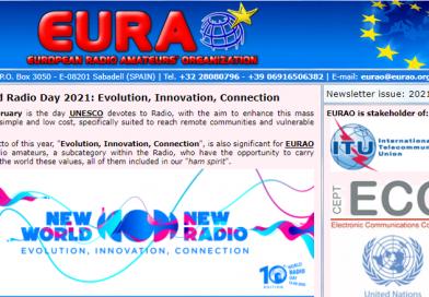 Newsletter EURAO – Fevereiro 2021