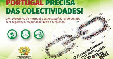 Portugal precisa das colectividades